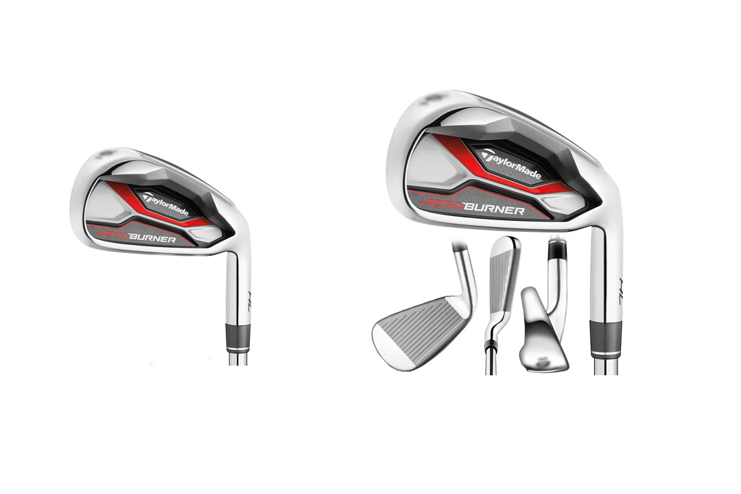 TaylorMade Golf AEROBURNER HL Irons Steel Regular Flex 4-PW/AW