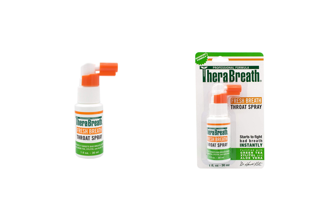 TheraBreath Dentist Formulated Fresh Breath Spray for One the Go, 1 Ouce