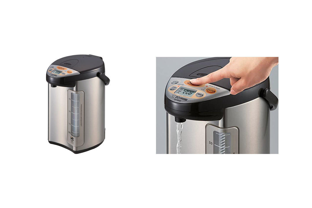 Zojirushi America Corporation CV-DCC40XT VE Hybrid Water Boiler and Warmer Stainless Dark Brown