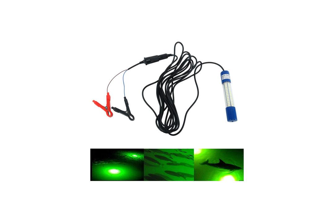 Amarine Made 12v-24v 8W 180 LED 100 Lumens IP68 Lure Bait Finder