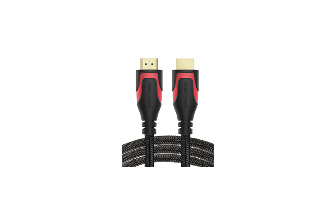 HDMI Cable - 6FT, FosPower 4K Latest Standard 2.0 HDMI Ready [UL Listed]