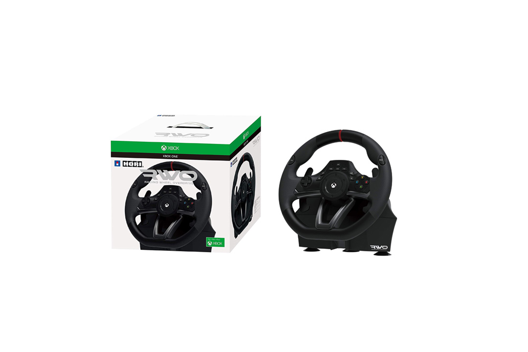HORI Racing Wheel Overdrive for Xbox One Officially Licensed by Microsoft Hori