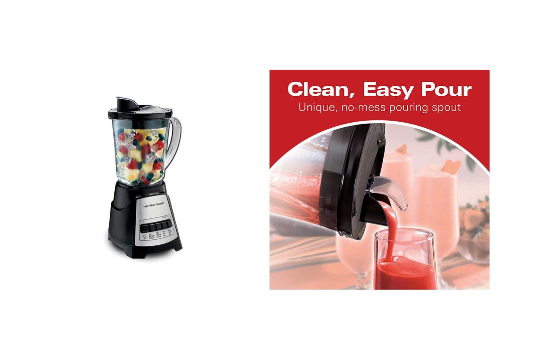 Hamilton Beach Power Elite Multi-Function Blender with Glass Jar (58148A)