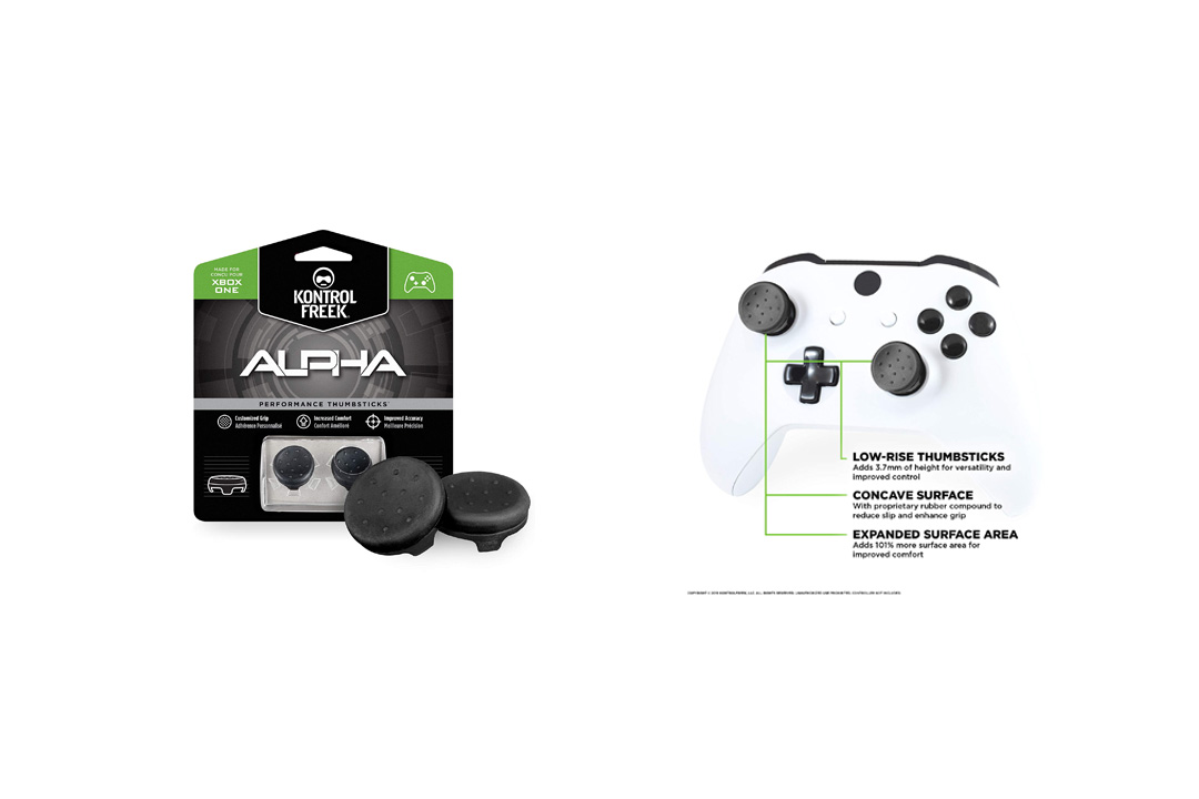 KontrolFreek Alpha Thumb Grips for Xbox One Controller