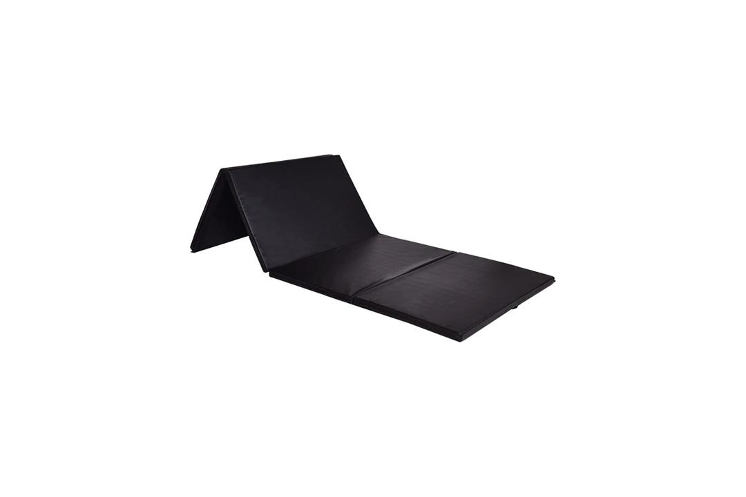 "MAT EXPERT 4'x8'x2"" Gymnastics Folding Panel Gym Fitness Exercise Mat"