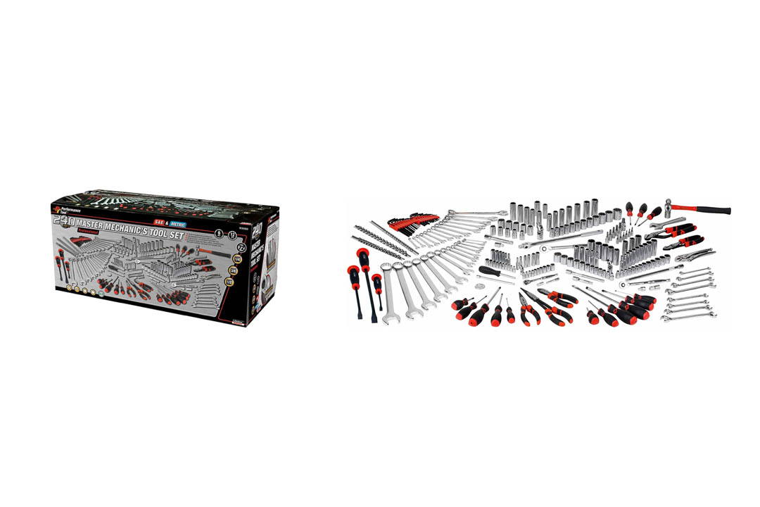 Performance Tool W30500 Master Mechanic's Tool Set (240 Pieces)