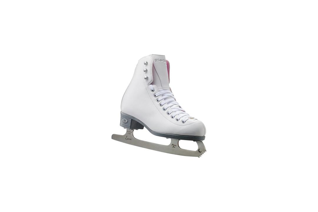 Riedell 114 Pearl Ladies Ice Figure Skates