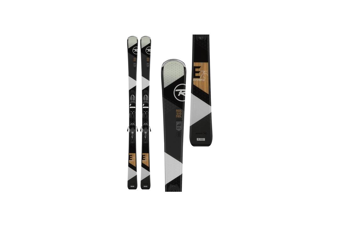 Rossignol Men's Experience 75 Xelium + Xelium 100 All Mountain Ski & Binding Kit