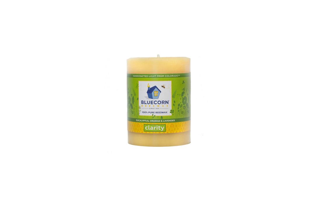Bluecorn Beeswax 100% Pure Beeswax Aromatherapy Pillar Candles