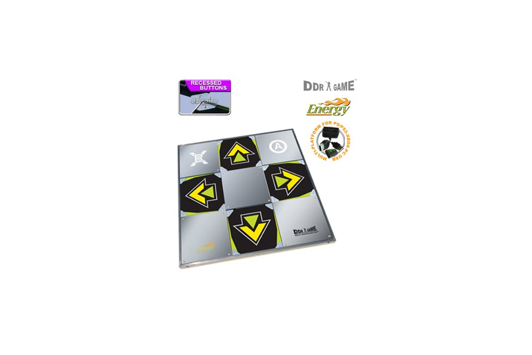 DDR Game Energy Metal Dance Pad for PC/ PS2/ PS1/ Wii/ Xbox