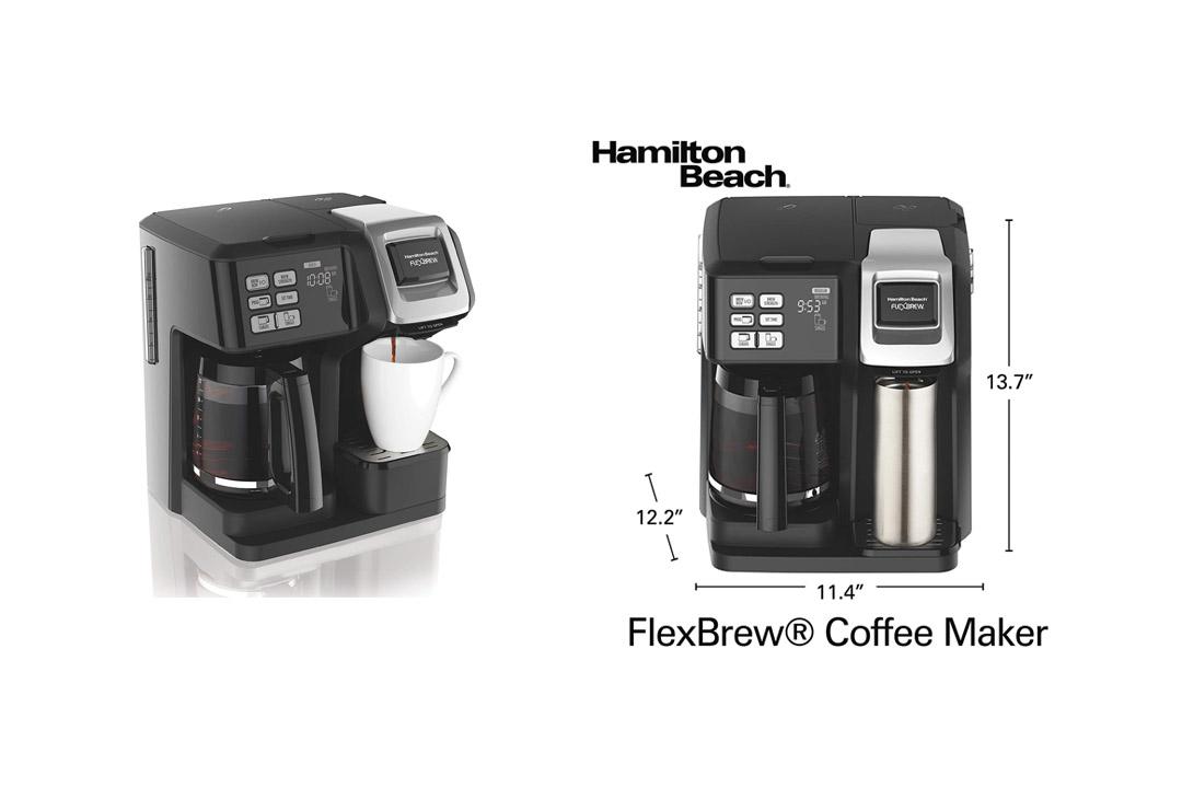 Hamilton Beach 49976 Flex brew 2-Way Brewer Programmable Coffee Maker