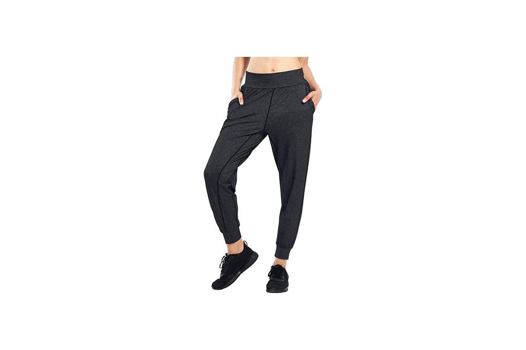 Matymats Women's Sports Harem Sweat Pants with Pocket