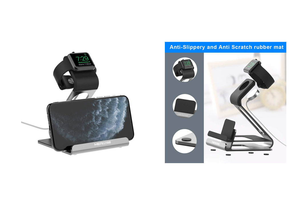 Mercase Apple Watch Stand, Night Stand Mode iWatch Charging Stand Bracket