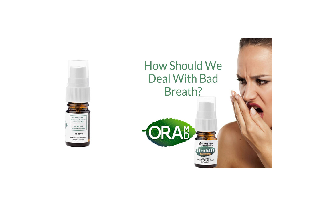 OraMD Natural Breath Spray - Stop Bad Breath