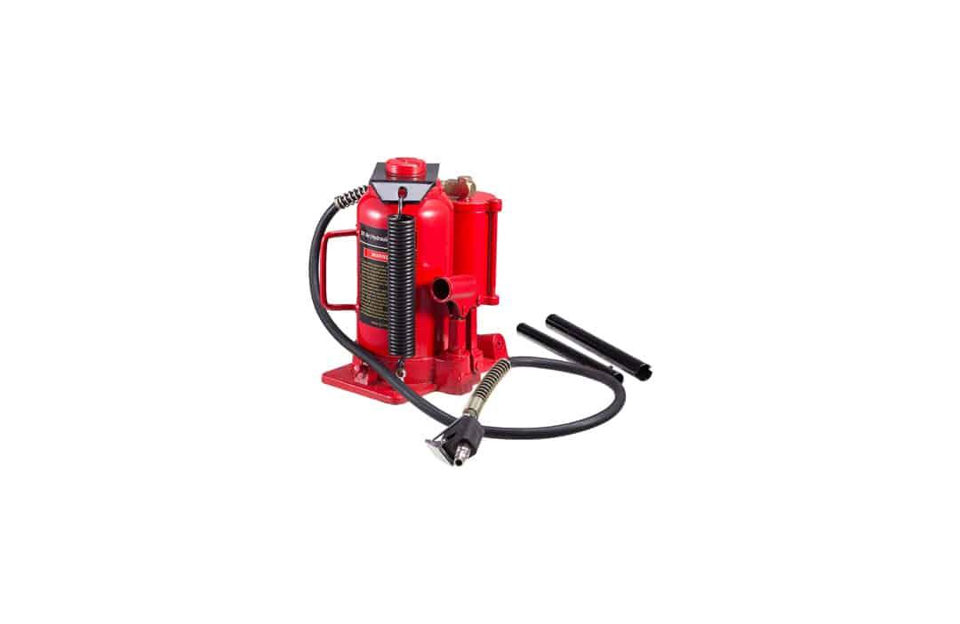 Orion Motor Tech Hydraulic & Pneumatic Air Bottle Jack Lift | 20 Ton / 40000 LB