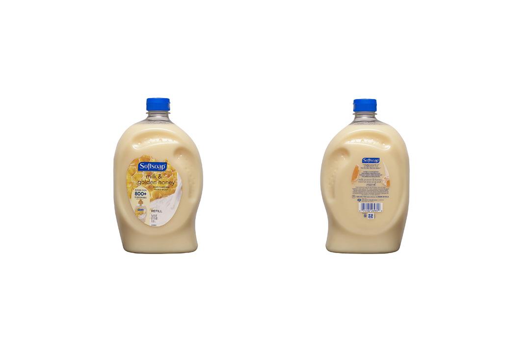 Softsoap Liquid Hand Soap Refill, Milk & Golden Honey Hand Soap