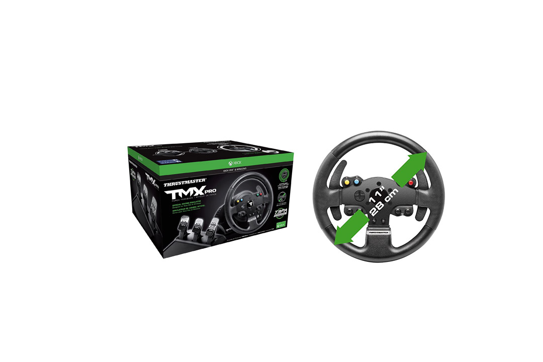 Thrustmaster VG TMX PRO Racing Wheel - Xbox One, Black Thrustmaster