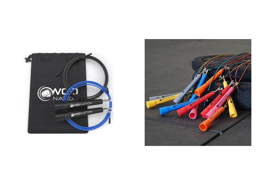 WOD Nation Speed Jump Rope - Blazing Fast Jumping Ropes