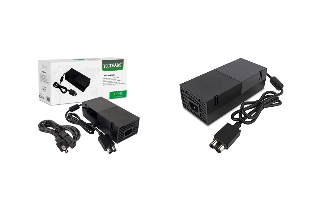 YCCTEAM Xbox One Power Supply BrickAC Adapter Xbox One with Cable 100-240V