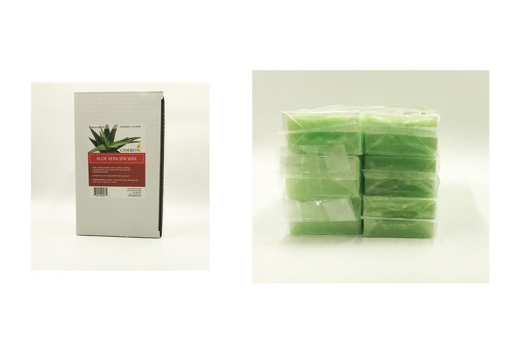 6PK Hot Spa Paraffin Wax Refill (Lavender) 6 - 1 lb Blocks