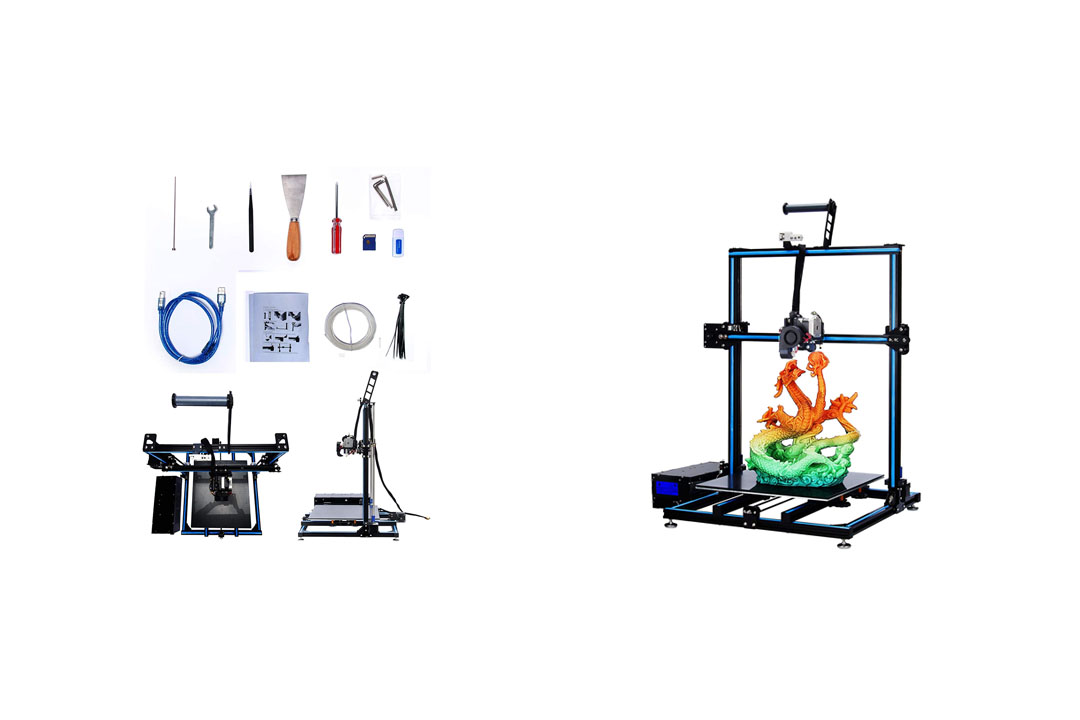 ADIMLab 3D Printer Assembled 24V Prusa I3 3D Printing Size