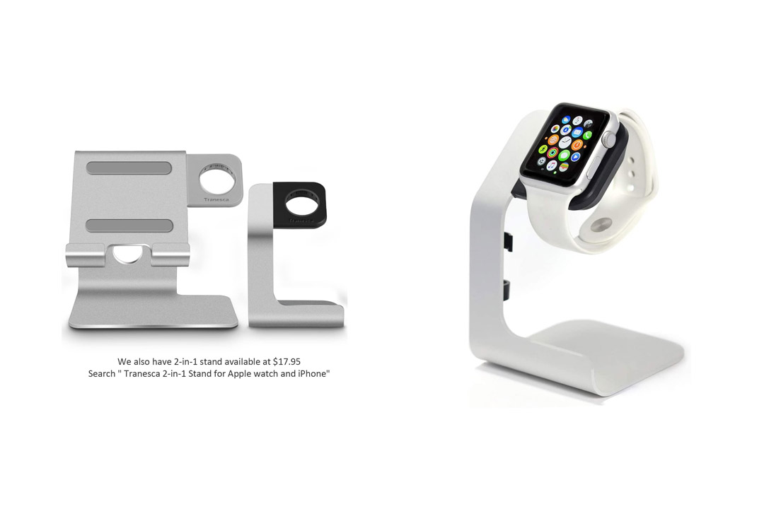 Apple Watch Stand-Tranesca Apple charging stand for 38mm and 42mm Apple watch