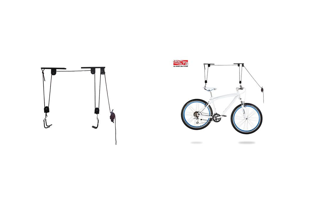Arltb Bike Lift Hoist for Garage Bicycle Ceiling