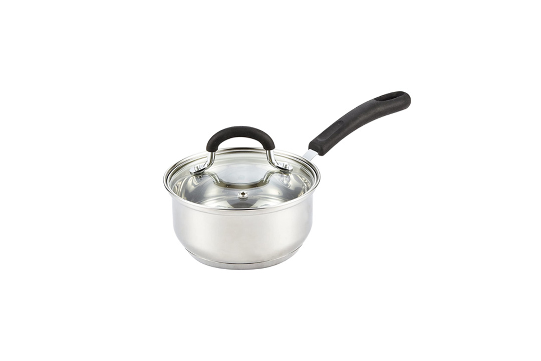 Cook N Home 1 Quart Stainless Steel Sauce Pan with Lid