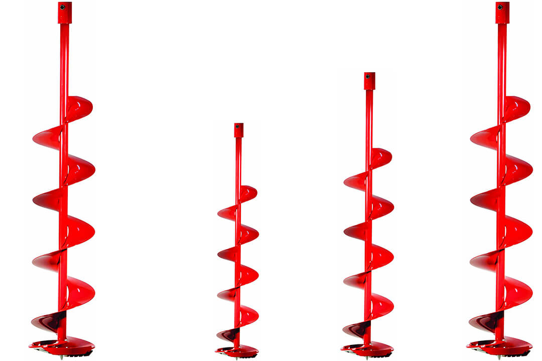 Eskimo QT8N Power Ice Auger Bit with 8 Inch Quantum Blades