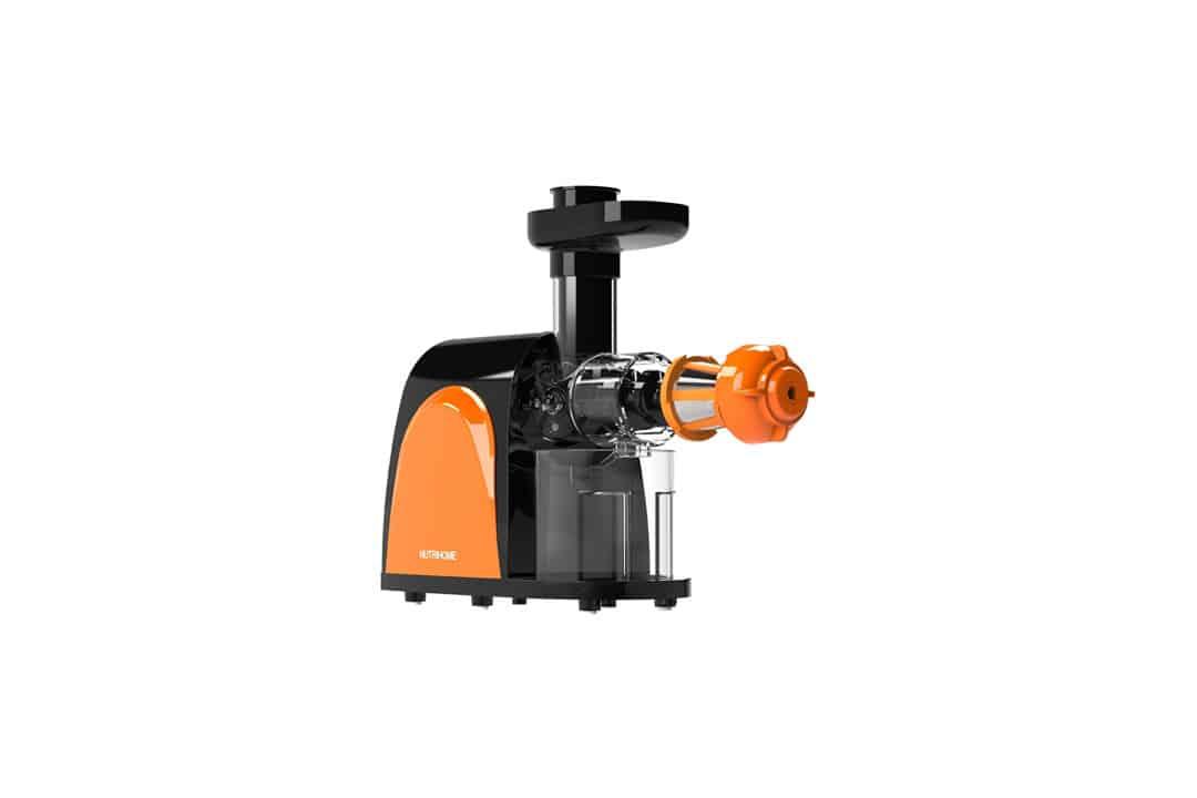 Masticating Juicer, Cold Press Juicer, Slow Juicer Machine with Juice Jug,