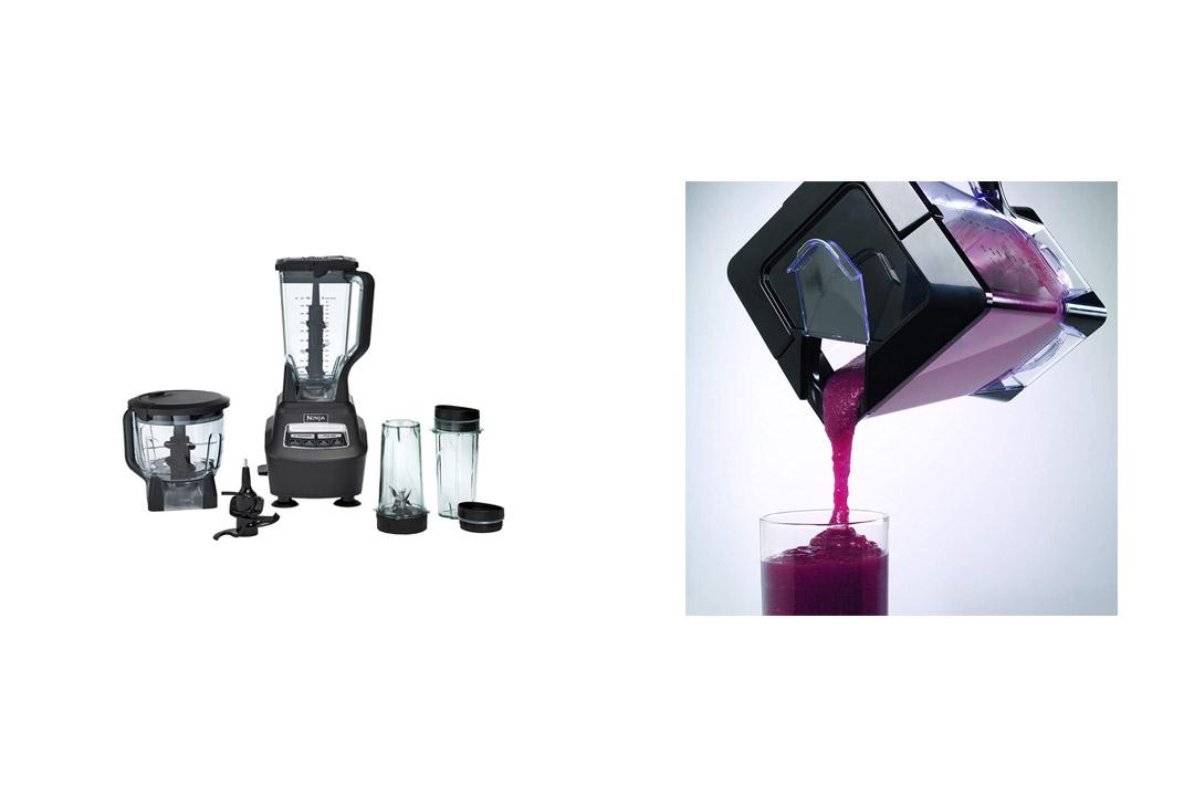 Ninja Mega Kitchen System (Blender, Processor, Nutri Ninja Cups) BL77Ninja Mega Kitchen System (Blender, Processor, Nutri Ninja Cups) BL77