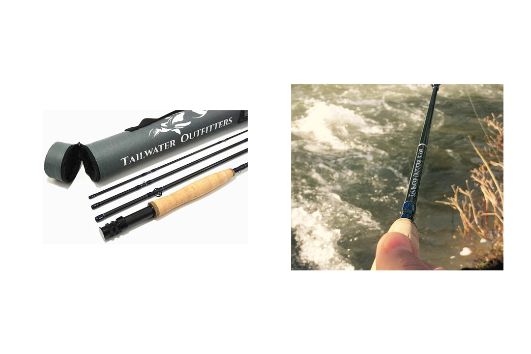 Tailwater Outfitters Toccoa Fly Rod: Graphite With Rod Tube