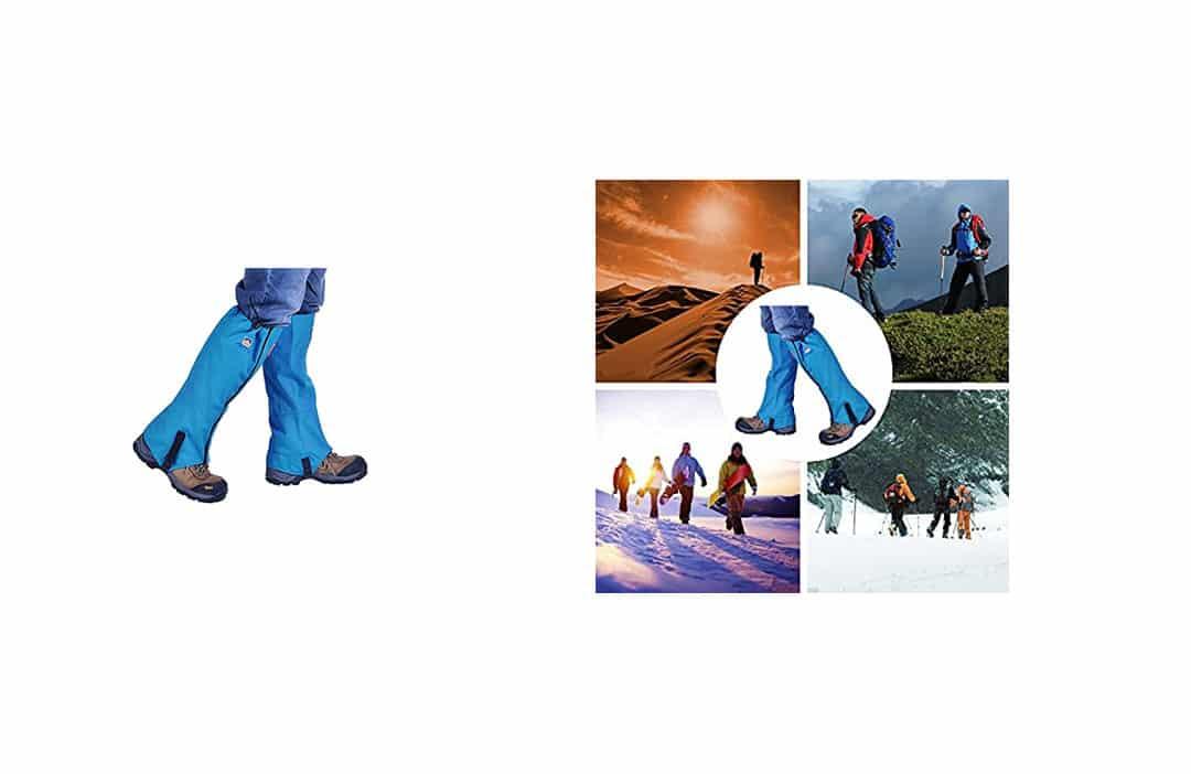 Winis Snow Gaiters Hiking Camping Leg Gaiters