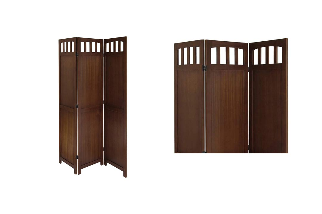 Winsome Wood 3-Panel Wood Folding Screen