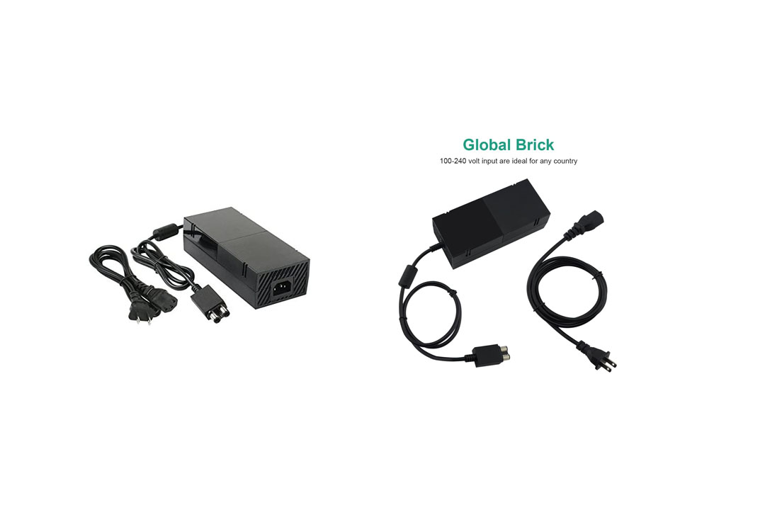 Xbox One Power Supply Brick, AC Adapter Power Supply Charger Cord Replacement for Xbox One