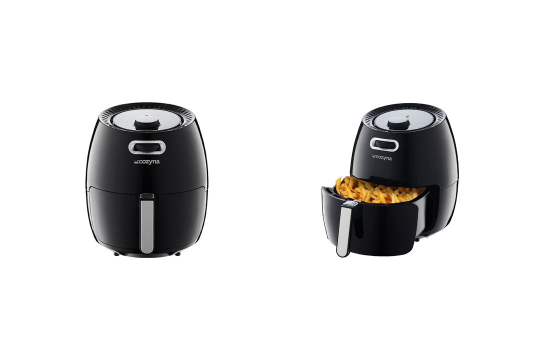 Air Fryer XL by Cozyna (5.8QT) with air fryer cookbook (over 50 recipes)