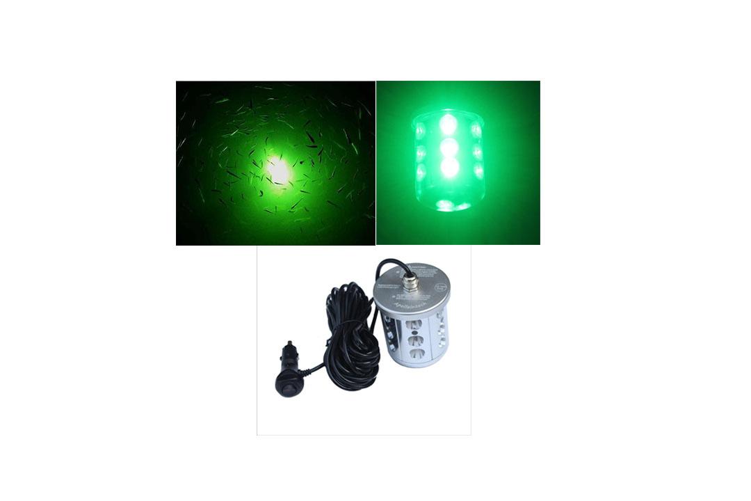 Apollointech Green Deep Drop LED Submersible Night Fish Attracting Fishing Light