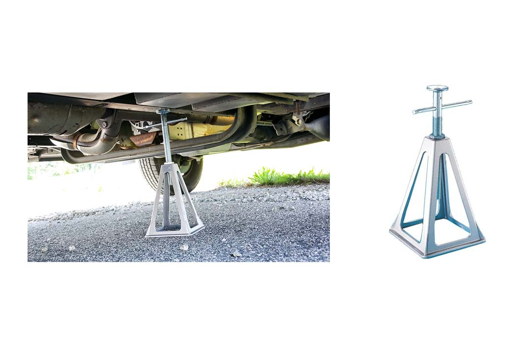 Camco Olympian Aluminum Stack Jacks, Stabilize And Level Your RV