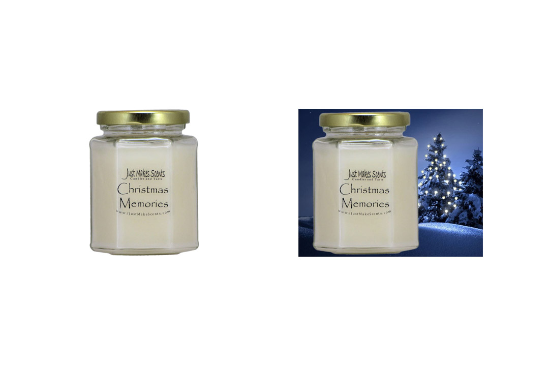 Christmas Memories (Cinnamon, Clove & Vanilla) Blended Soy Candle by Just Makes Scents