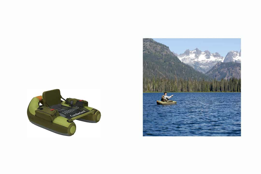 Classic Accessories Cumberland Inflatable Fishing Float Tubev