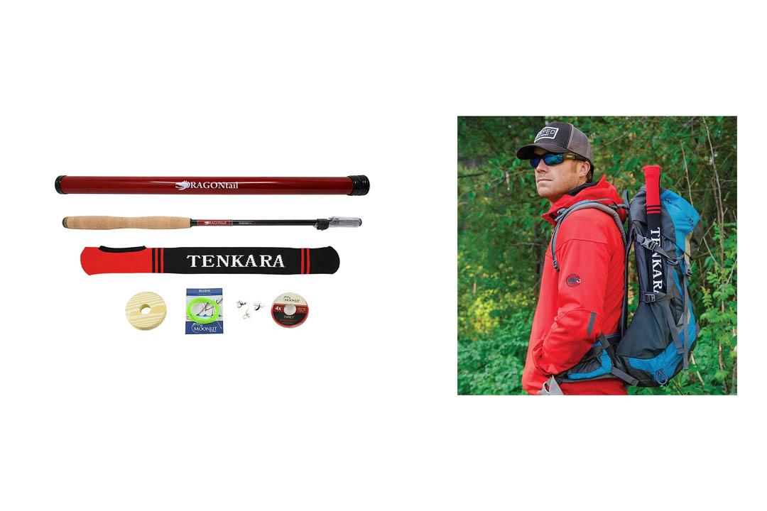DRAGONtail Tenkara Shadowfire 12' Tenkara Rod