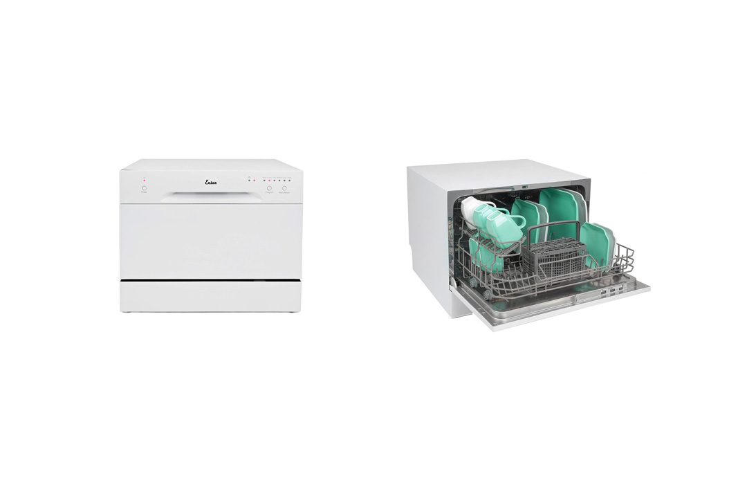 Ensue Countertop Dishwasher Portable Compact Dishwashing Machine White