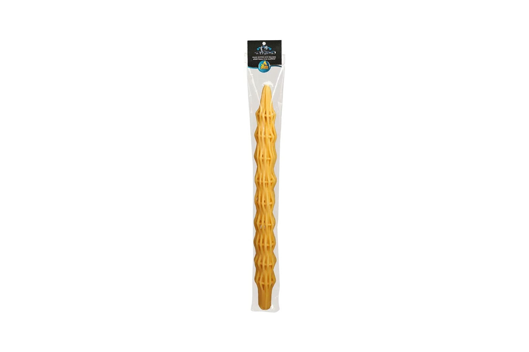 Havdallah Candle Super Large Pure Braided Beeswax 25''