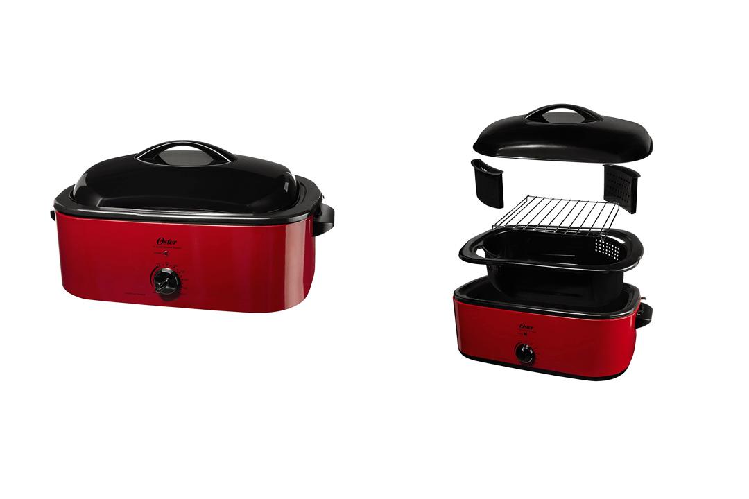 Oster CKSTROSMK18 Smoker-Roaster Oven, 16-Quart