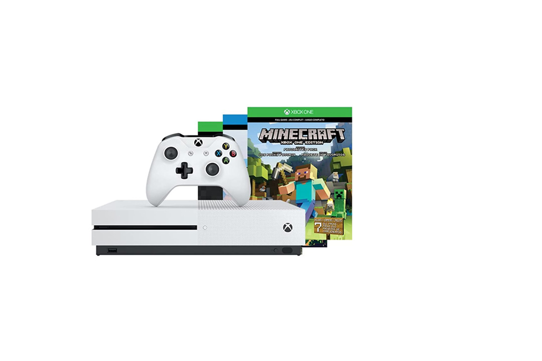 Xbox One S 500GB Console - Minecraft Bundle