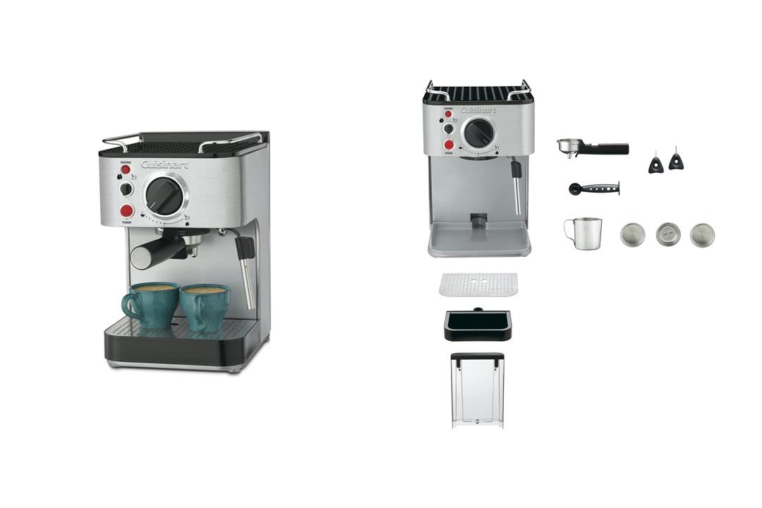 onair Cuisinart EM-100 1.66 Quart Stainless Steel Espresso Maker