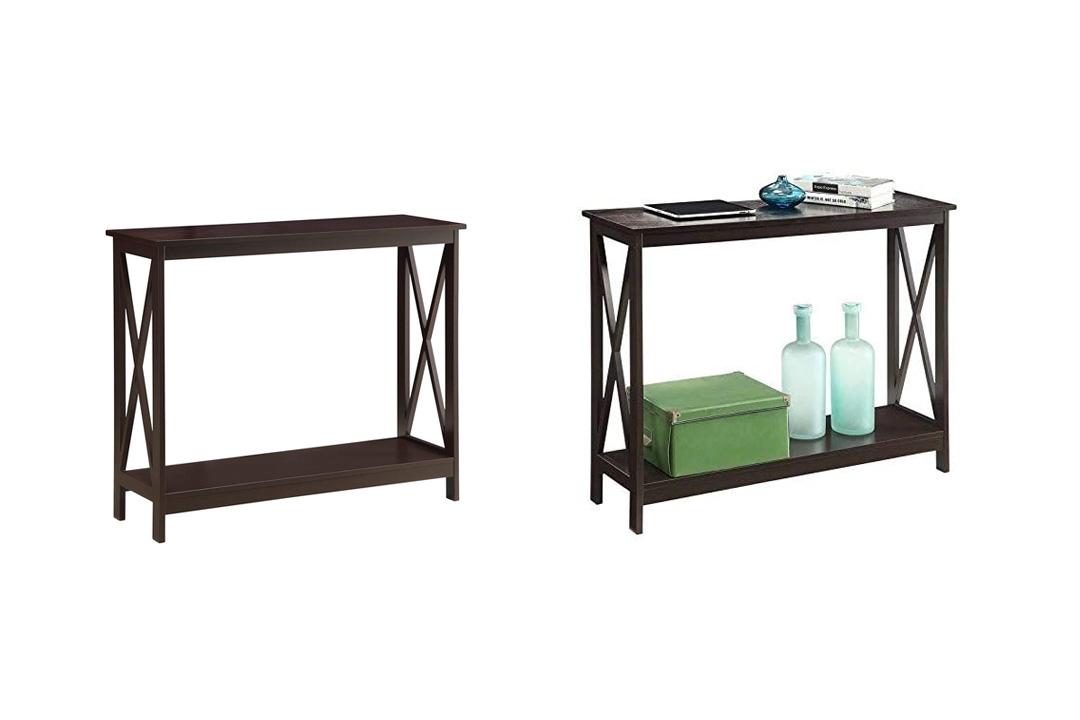 Convenience Concepts Oxford Console Table, Espresso
