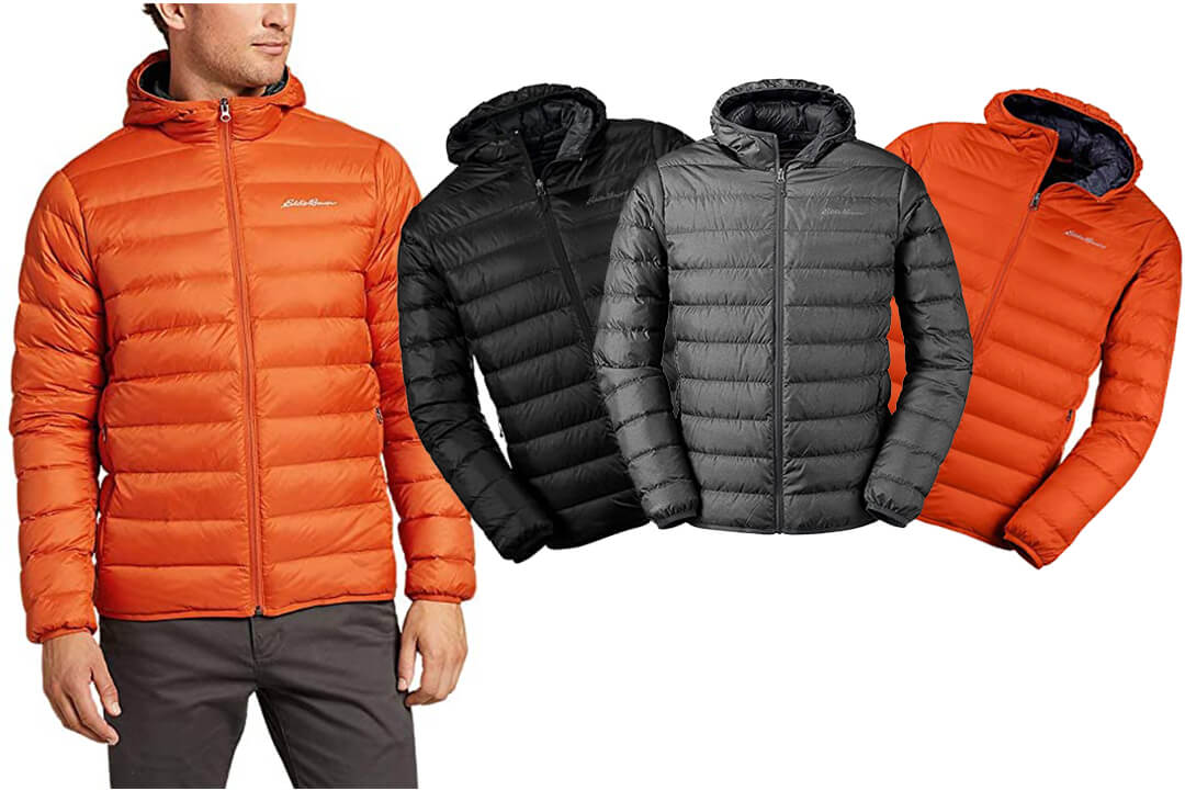 Eddie Bauer Men's CirrusLite Down Hooded