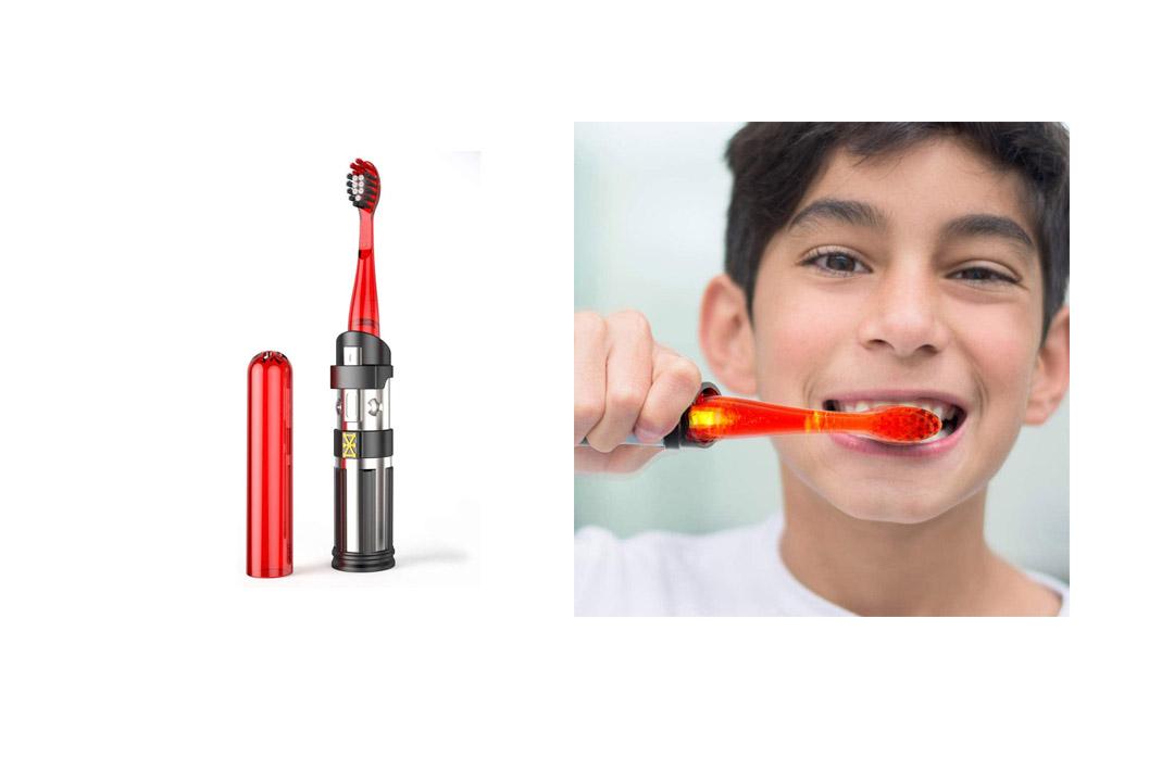 Firefly Star Wars Darth Vader Lightsaber Kids Toothbrush, Soft, 1-Count