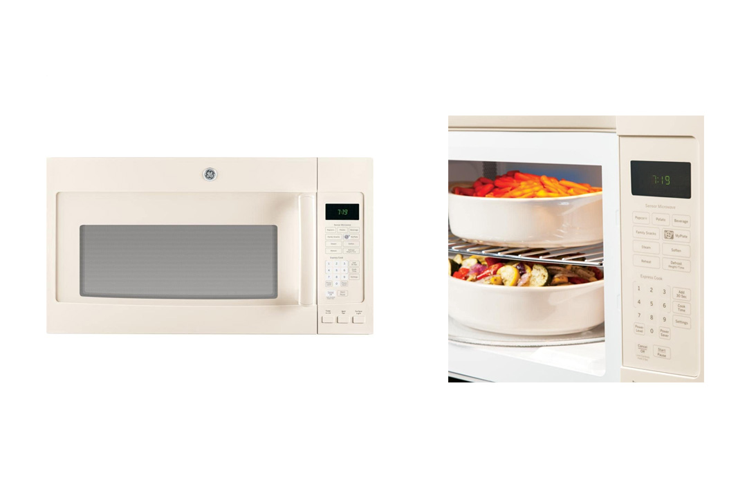 GE JVM7195DFCC 1.9 Cu. Ft. Bisque Over-the-Range Microwave